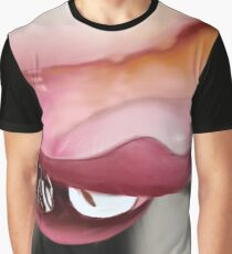 painting | rain on frangipani petal Graphic T-Shirt