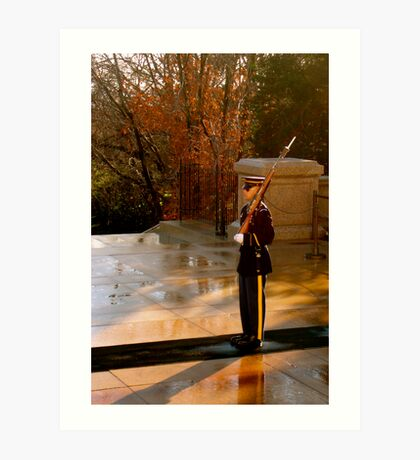The Unknown Soldier Art Print
