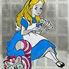 alice in moneyland by Loui  Jover
