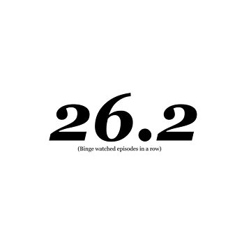 26.2 Binge watched shows by Thorbo99