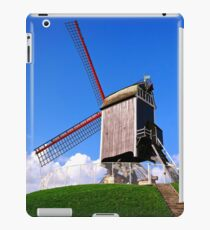 Sint-Janshuis Windmill, Bruges iPad Case/Skin