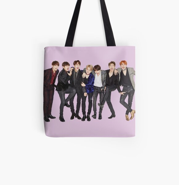 BTS All Over Print Tote Bag