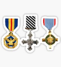 Military Medals Sticker