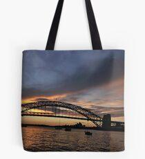 Shadows And Light , Sydney Harbour, Australia Tote Bag