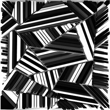 Triangles Black & White by elektronen