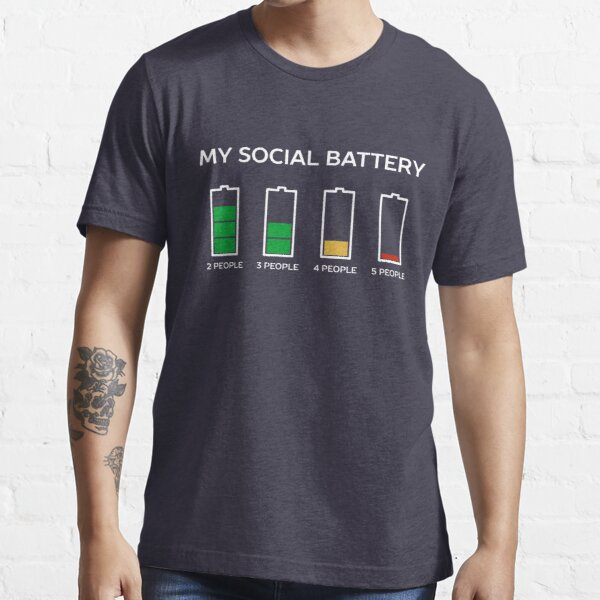 Funny Introvert Humor T-Shirt Essential T-Shirt