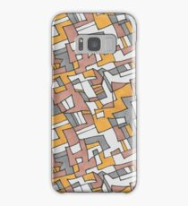 Overlapping Squares Pattern Samsung Galaxy Case/Skin