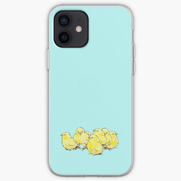 Cute Chick Foursome iPhone Soft Case