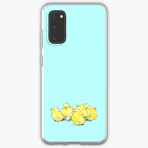 Cute Chick Foursome Samsung Galaxy Soft Case