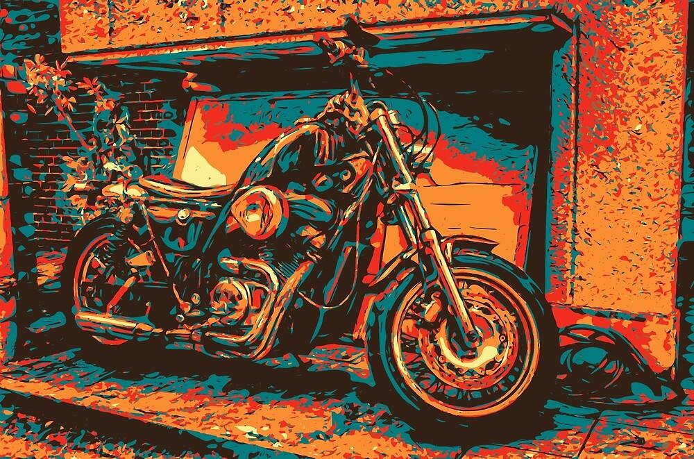 Side Moto by Brendan Arthur Ring