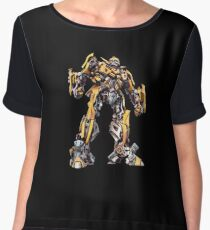 transformers Women's Chiffon Top