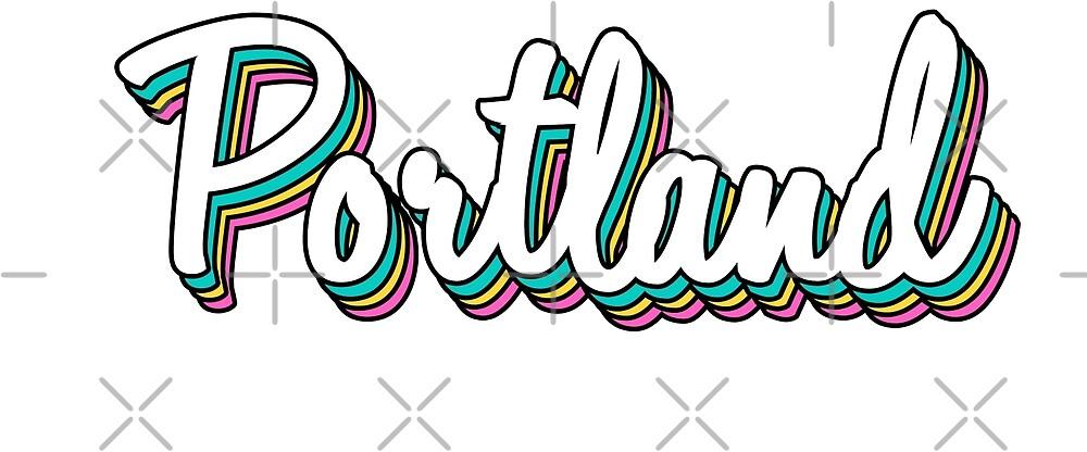 portland white retro by lolosenese