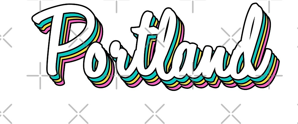 portland white retro by lolosenese