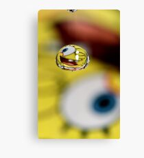 Fun With Sponge Bob Canvas Print