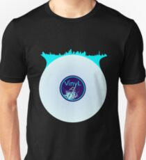 New York City Scape Vinyl DJ Unisex T-Shirt