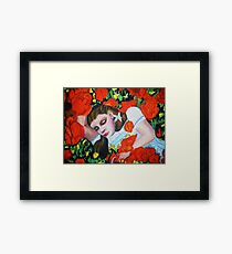 ASLEEP IN THE POPPIES , WIZARD OF OZ Framed Print
