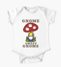 """Gnome Sweet Gnome"" Kitsch Sweet Cute Bright Kids Clothes"
