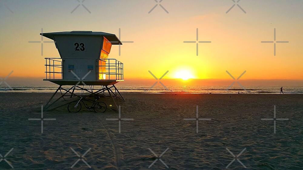 San Diego Sunset by SaturdayAC