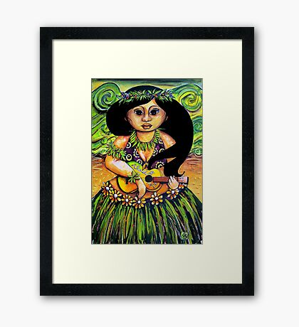 'Iliki' Spirit of Aloha Framed Print