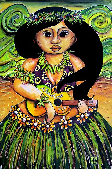 'Iliki' Spirit of Aloha by Karin Taylor