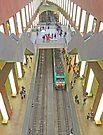 Inside Antwerp Central Station by Graeme  Hyde