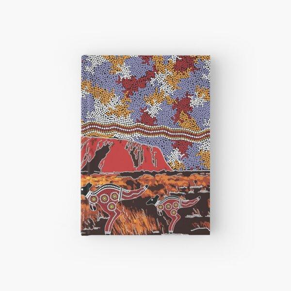 Uluru | Ayers Rock - Authentische eingeborene Künste Notizbuch