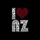 I heart NZ by typox