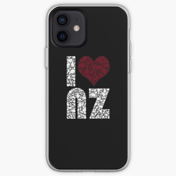 I heart NZ iPhone Soft Case