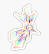 C20H25N3O- LSD Sticker
