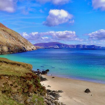 Keem Bay With The Minaun Cliffs In The Distance Off Achill Island by paulmcnam
