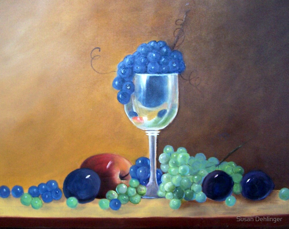 """""""Grapes and Plums"""" by Susan Dehlinger"""