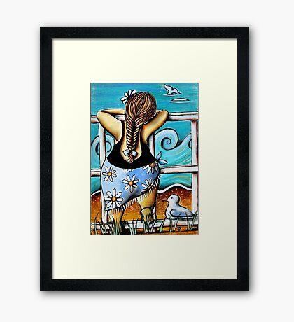 Migaloo Framed Print