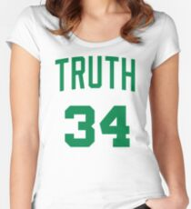 Truth Jersey Script 1 Women's Fitted Scoop T-Shirt