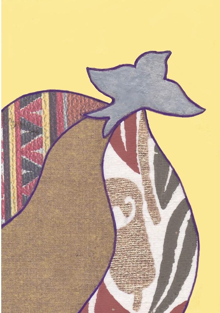 The Golden Bird by TrilliumDesign