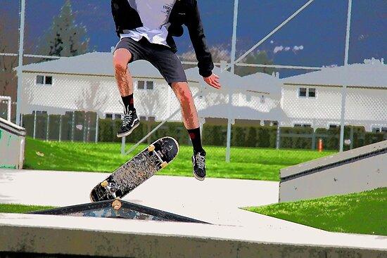 Missed Opportunity  - Skateboarder by NaturePrints
