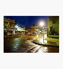Thompson Square In The Rain Photographic Print