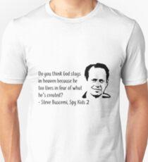 Steve Buscemi Spy Kids 2 Quote (Black) T-Shirt