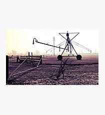 Lowlands Irrigation Photographic Print