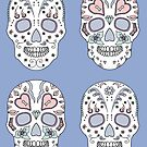 Sugar Skulls of Serenity by airdrie