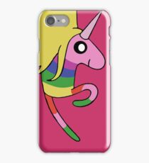 Adventure Time - Lady Rainicorn in Raspberry  iPhone Case/Skin