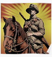 ANZAC- Austrlian Light Horse Poster
