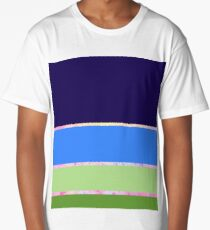 Abstract Landscape Trio Long T-Shirt