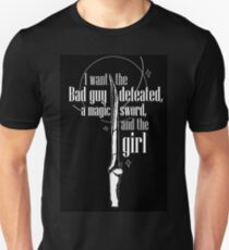 Magic Sword and the Girl Unisex T-Shirt