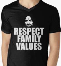 Charles Manson - Respect Family Values - Shirt T-Shirt