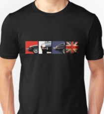 E-Type British Motoring Icon Unisex T-Shirt