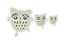 Eco Friendly Owl Family Hootenanny by Karin Taylor
