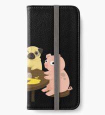 Hoppla. iPhone Flip-Case/Hülle/Klebefolie
