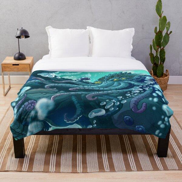 The Dreamer Awakes Throw Blanket