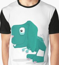 Dino Bunny TRex Graphic T-Shirt