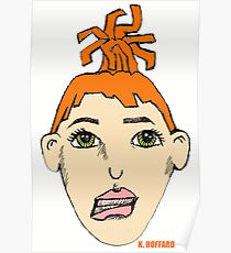 Anime Me - Self Portrait Poster